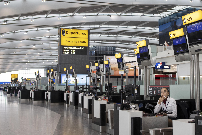 British Airways Pilots Strike Heathrow Airport