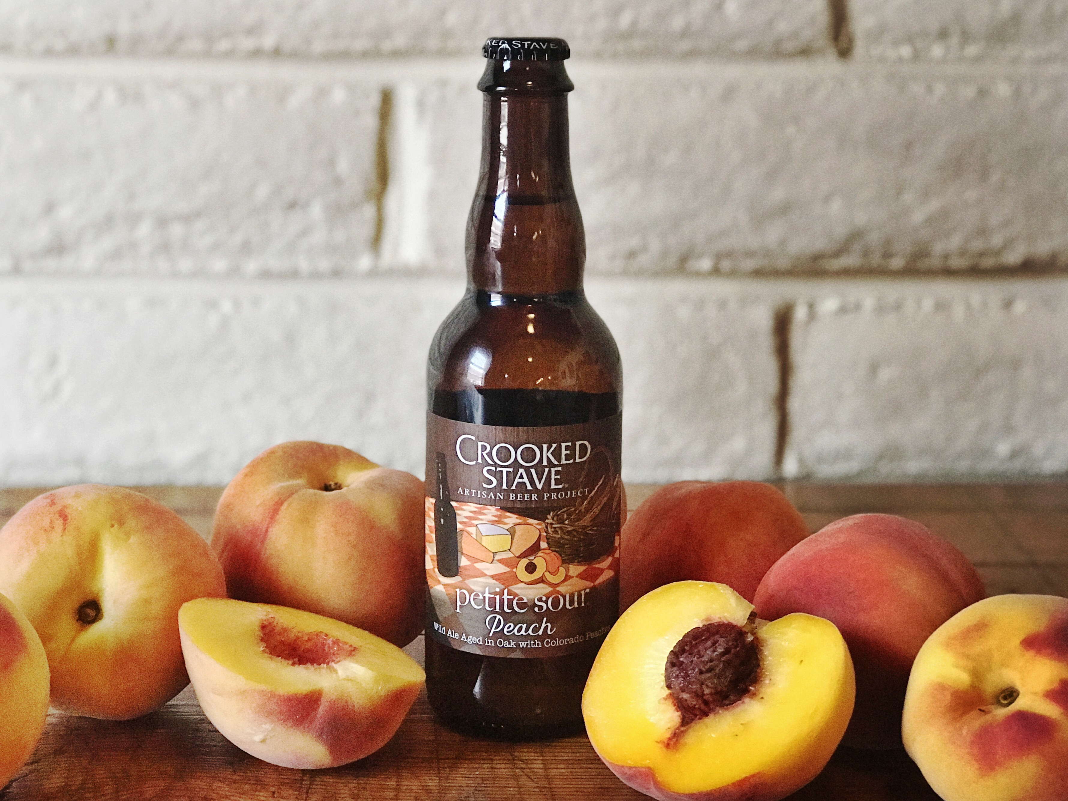 Crooked Stave of Colorado uses fruit sourced from organic growers within its home state.
