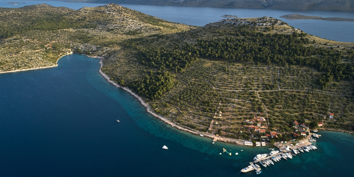 This High-End Restaurant and Glamping Ground in Croatia's Archipelago Is Accessible Only by Boat