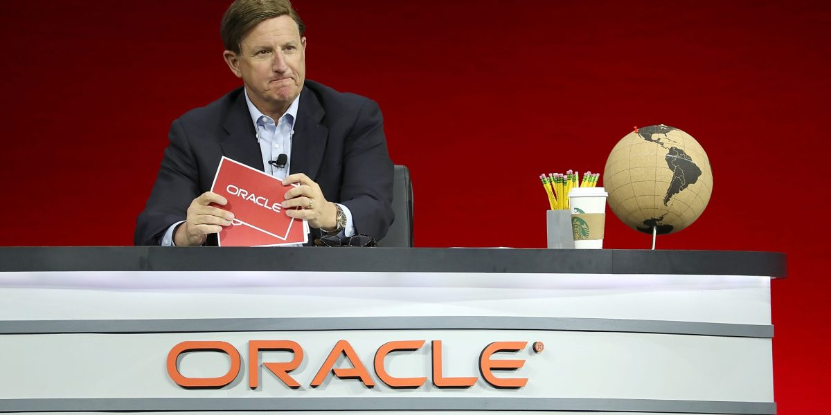 Oracle Co-CEO Mark Hurd to Take Health-Related Leave of Absence