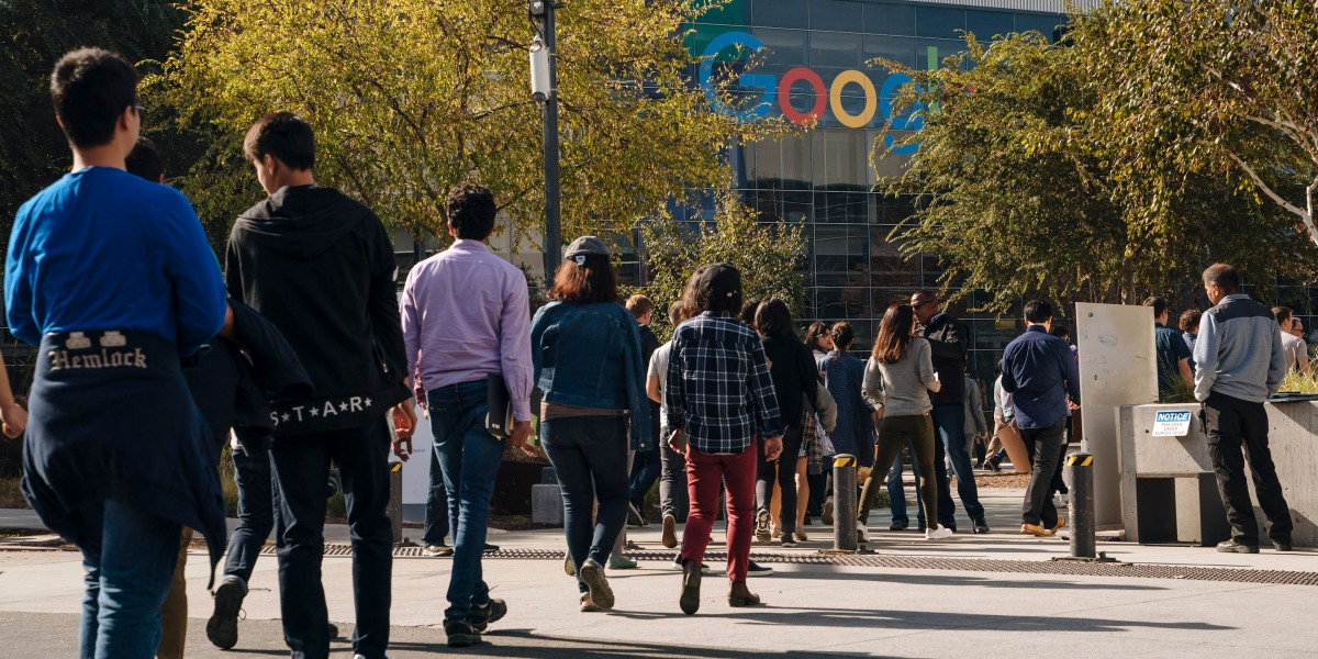 Google Workers to Join Amazon and Microsoft Employees on Sept. 20's Walkout for the Environment