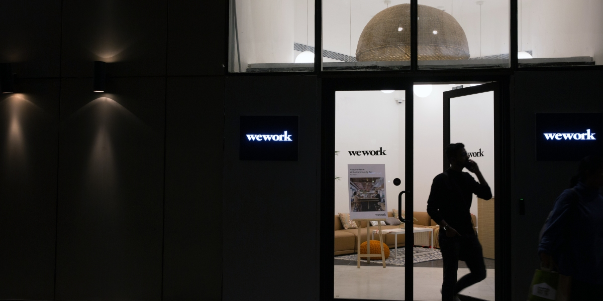 Now WeWork's Biggest Investor Wants to Shelve Its Troubled IPO