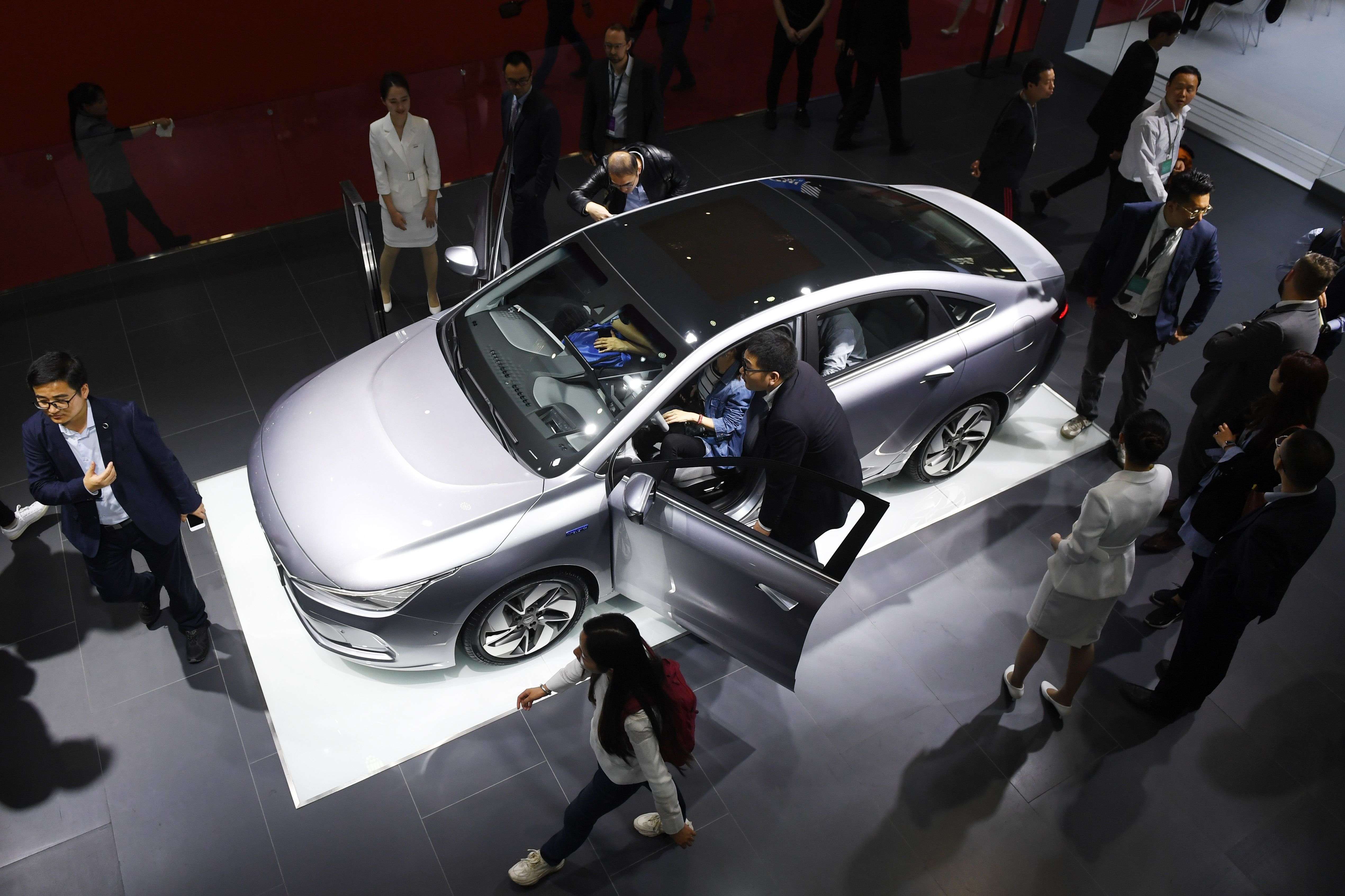 CHINA-AUTO-INDUSTRY-ENERGY-ENVIRONMENT