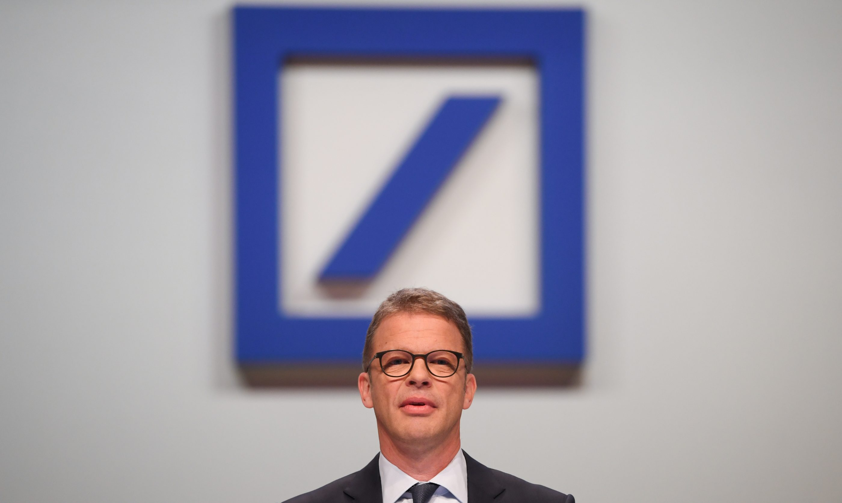 Annual General Meeting Deutsche Bank in Frankfurt