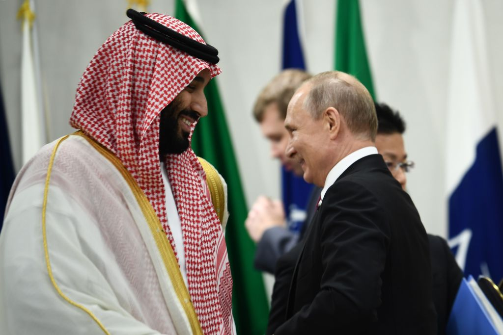 The attacks on Saudi Arabia have opened up an opportunity for Russia
