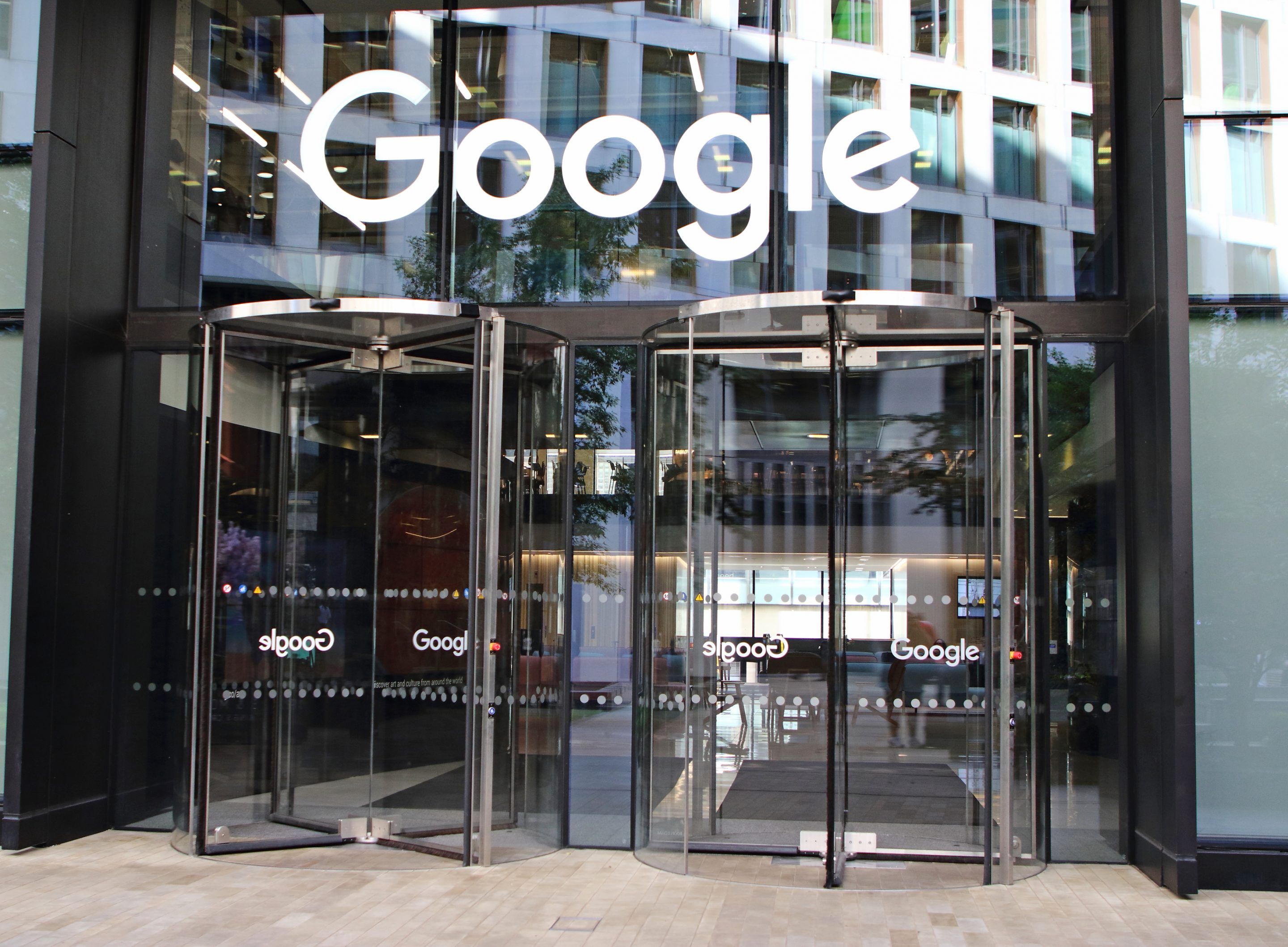 Global internet search company Google office in the recently