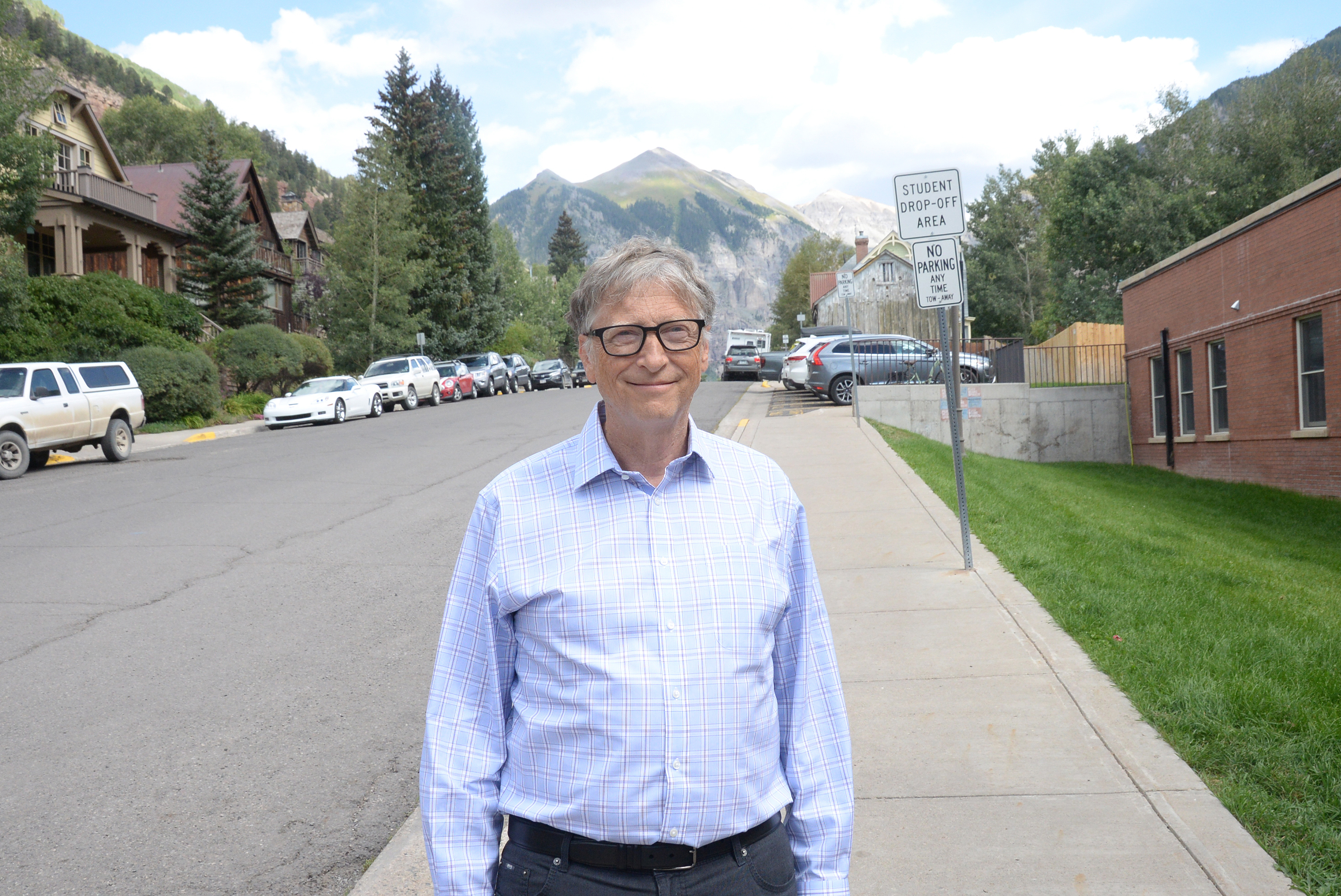 TELLURIDE, CO - AUGUST 31: Bill Gates attends the Telluride Film Festival 2019 on August 31, 2019 in Telluride, Colorado. (Photo by Paul Best/Getty Images)
