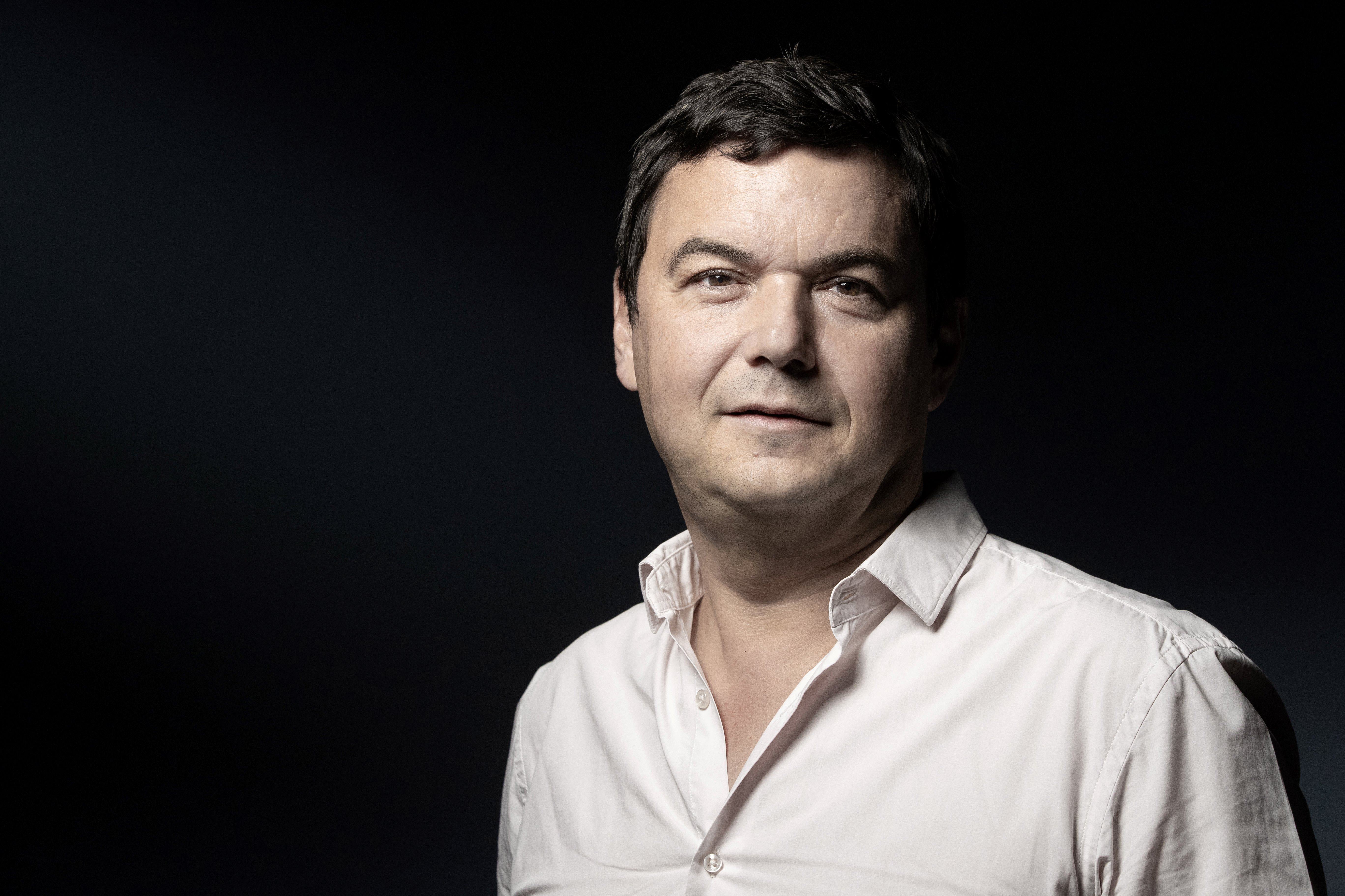 TOPSHOT - French economist Thomas Piketty poses during a photo session in Paris on September 10, 2019. (Photo by JOEL SAGET / AFP) (Photo credit should read JOEL SAGET/AFP/Getty Images)
