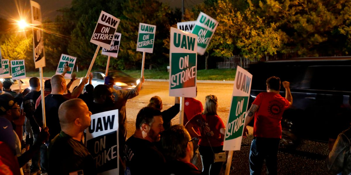 GM's Autoworker Strike Could Cost the Carmaker $50 Million a Day