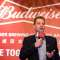 Jan Craps, chief executive officer of Budweiser Brewing Company APAC Ltd., speaks during a news conference in Hong Kong, China, on Tuesday, Sept. 17, 2019. Anheuser-Busch InBev NV is reviving the Hong Kong initial public offering of its Asian unit and is set to raise as much as $4.8 billion, roughly half of an earlier target. Photographer: Kyle Lam/Bloomberg via Getty Images