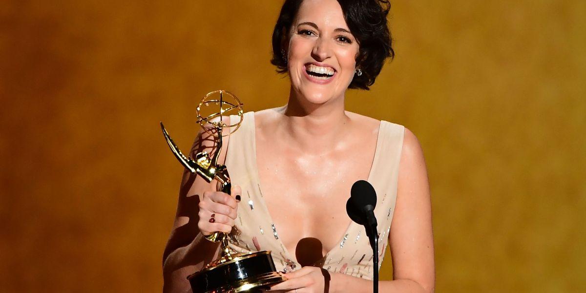 Phoebe Waller-Bridge Shocks With Upset Win Over Julia Louis-Dreyfus for Emmy's Lead Comedy Actress