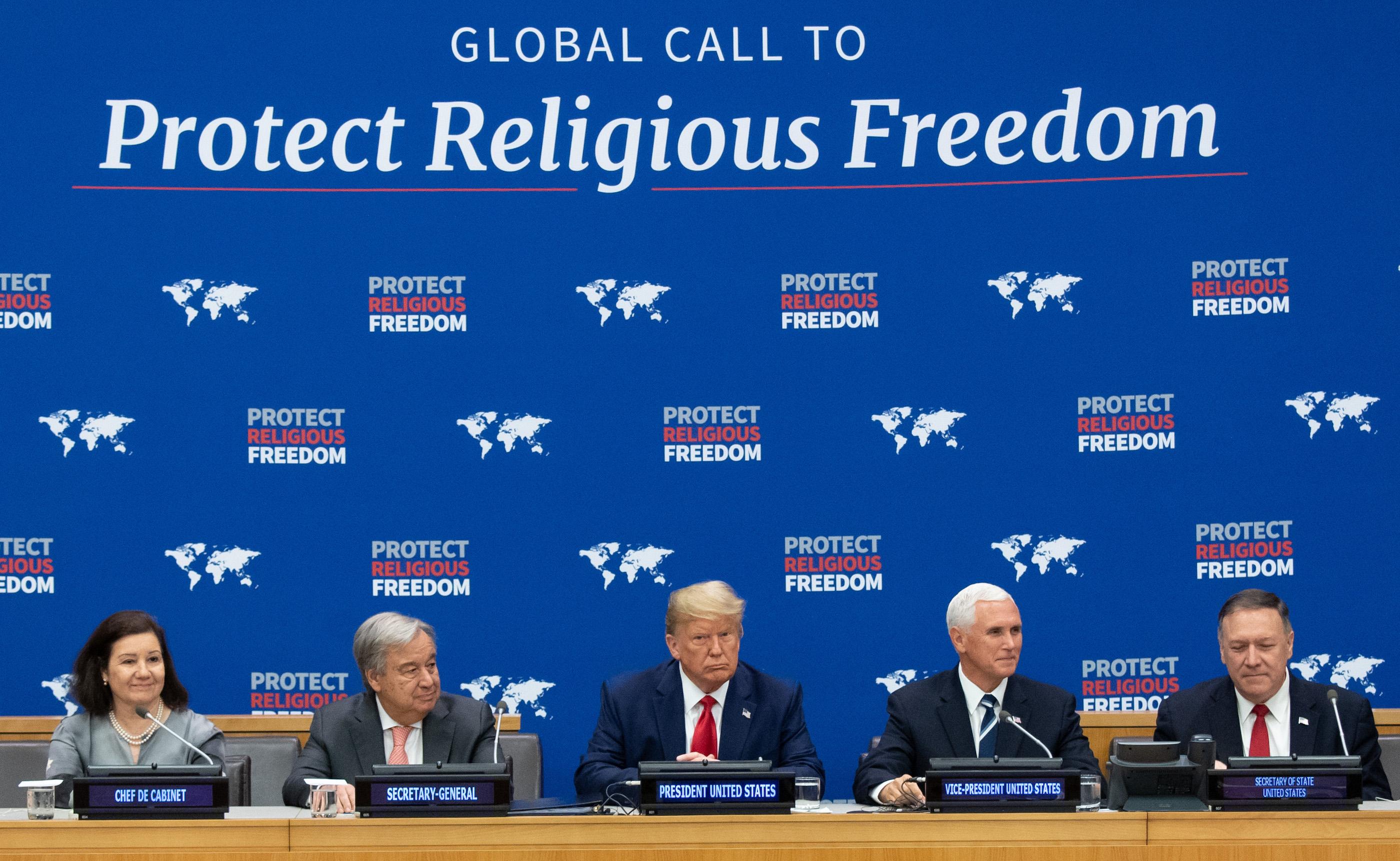UN-US-RELIGIOUS FREEDOM-TRUMP