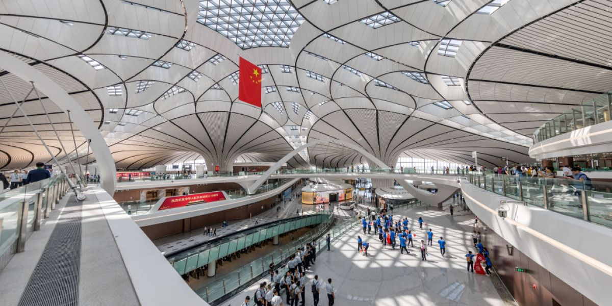 The $63 Billion 'Phoenix': Beijing Officially Opens the World's Largest Airport