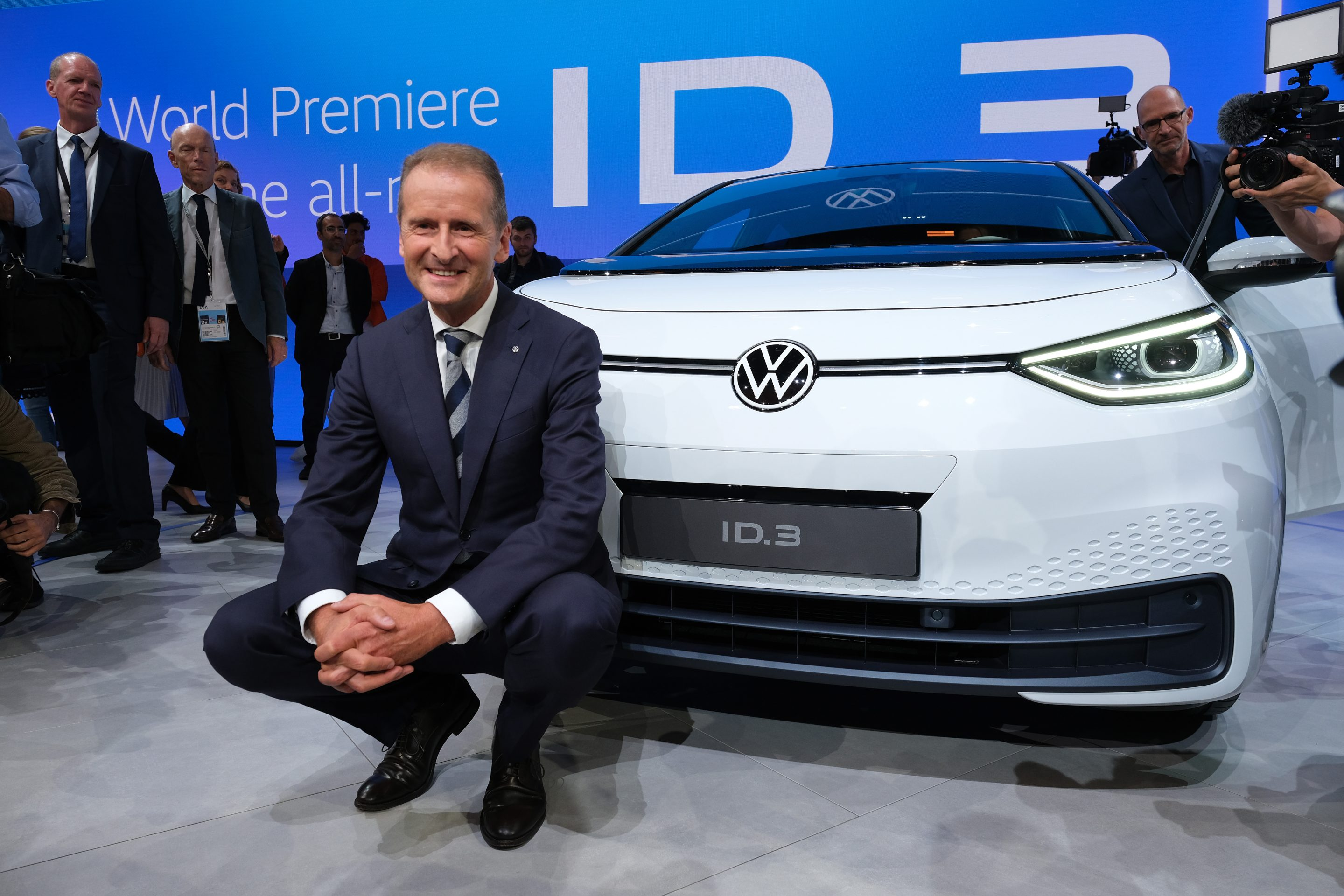 Volkswagen Group Media Night At IAA Frankfurt Auto Show