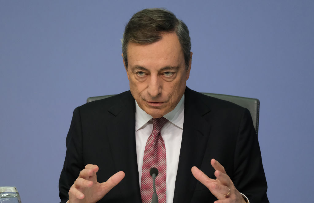 Mario Draghi, President of the European Central Bank, announced on September 12, 2019 that the bank would loosen monetary policy, including reintroducing bond buying