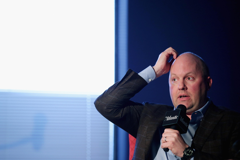 Venture Capitalist And Netscape Founder Marc Andreessen Speaks In Washington