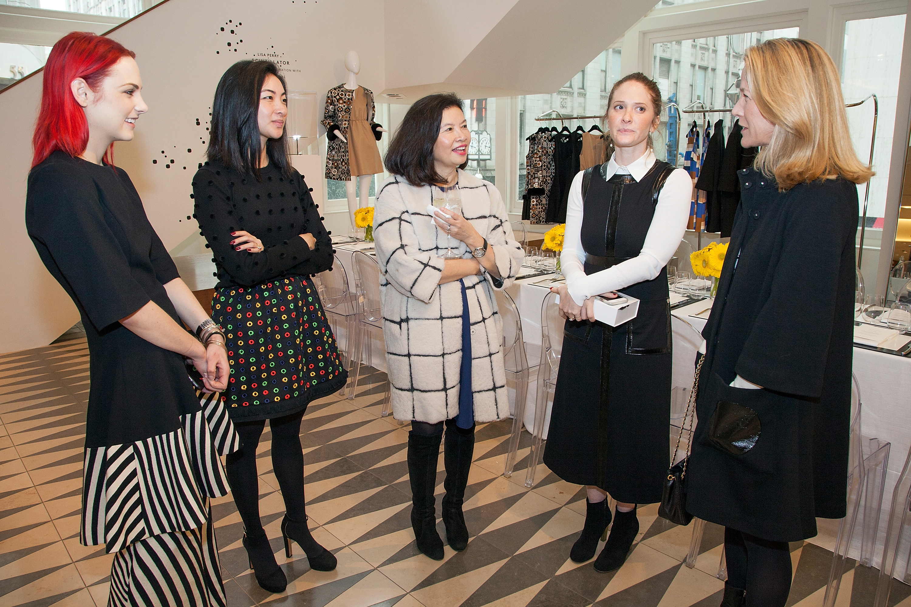Barneys New York Hosts A Private Luncheon For Lisa Perry