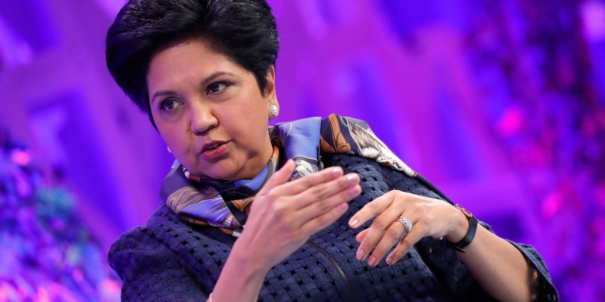 Indra Nooyi: 'We Need Our Own Sisterhood'