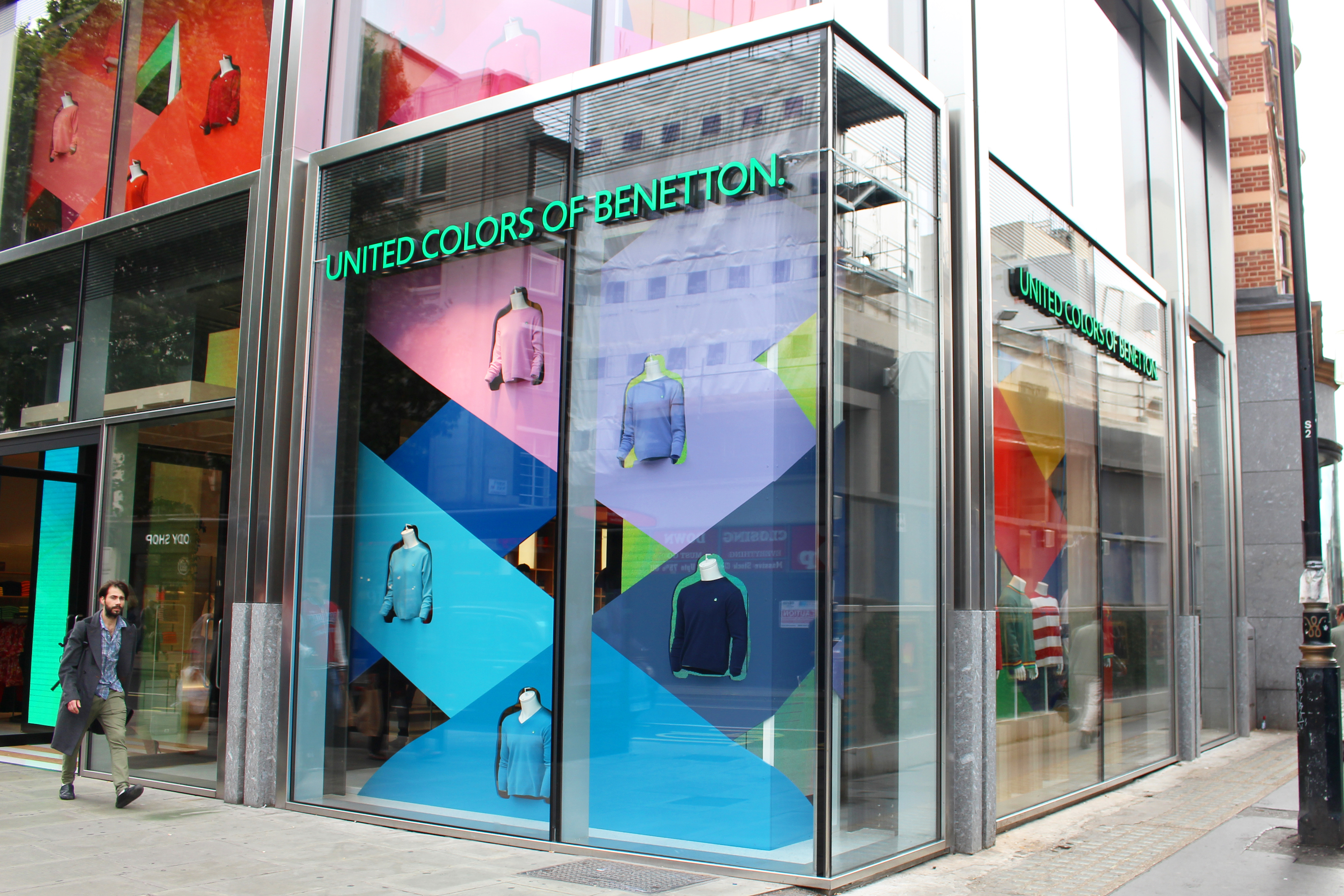 A Benetton on London's Oxford Street, which opened last year.