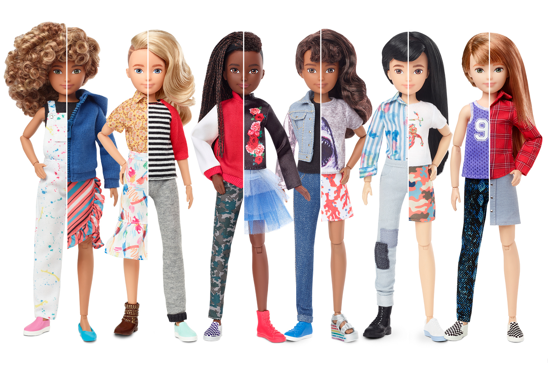 Mattel Gender Neutral Dolls Creatable World