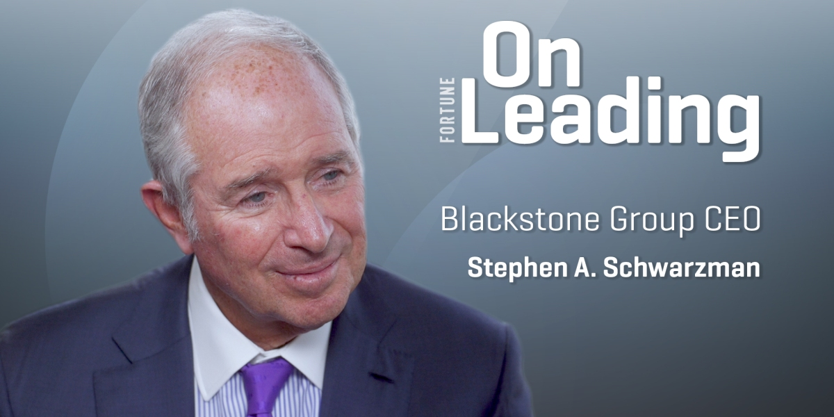 Outlook Thumb - Blackstone CEO's Leadership Lesson: Think Big and Never Give Up
