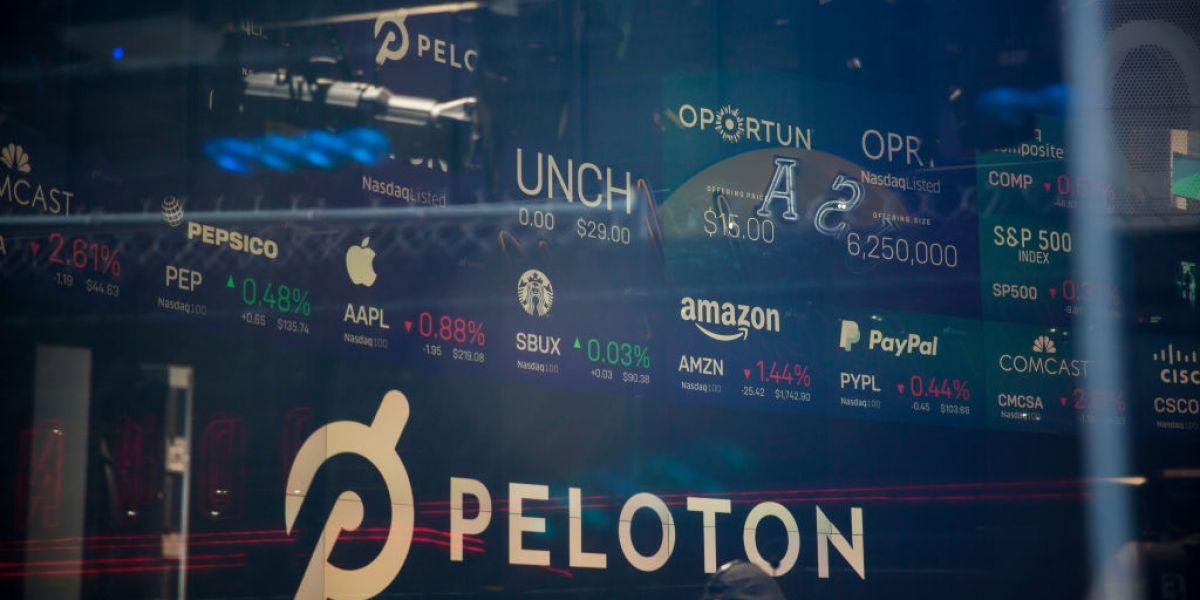 Peloton ipo stock price
