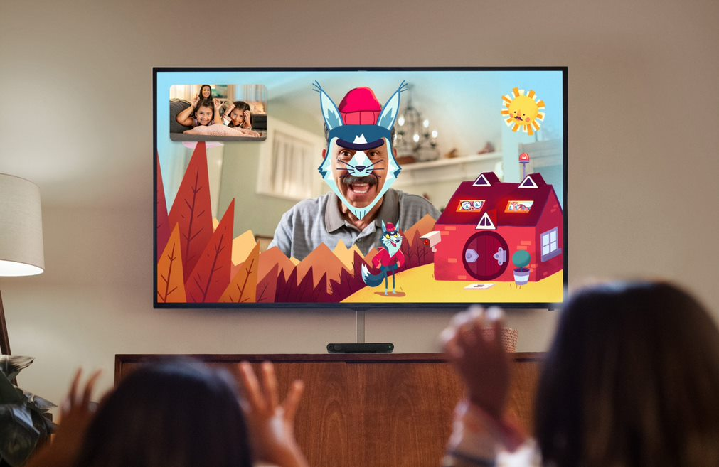 The Portal TV allows users to video call friends and family and use augmented reality via a device that sits on or near the TV.