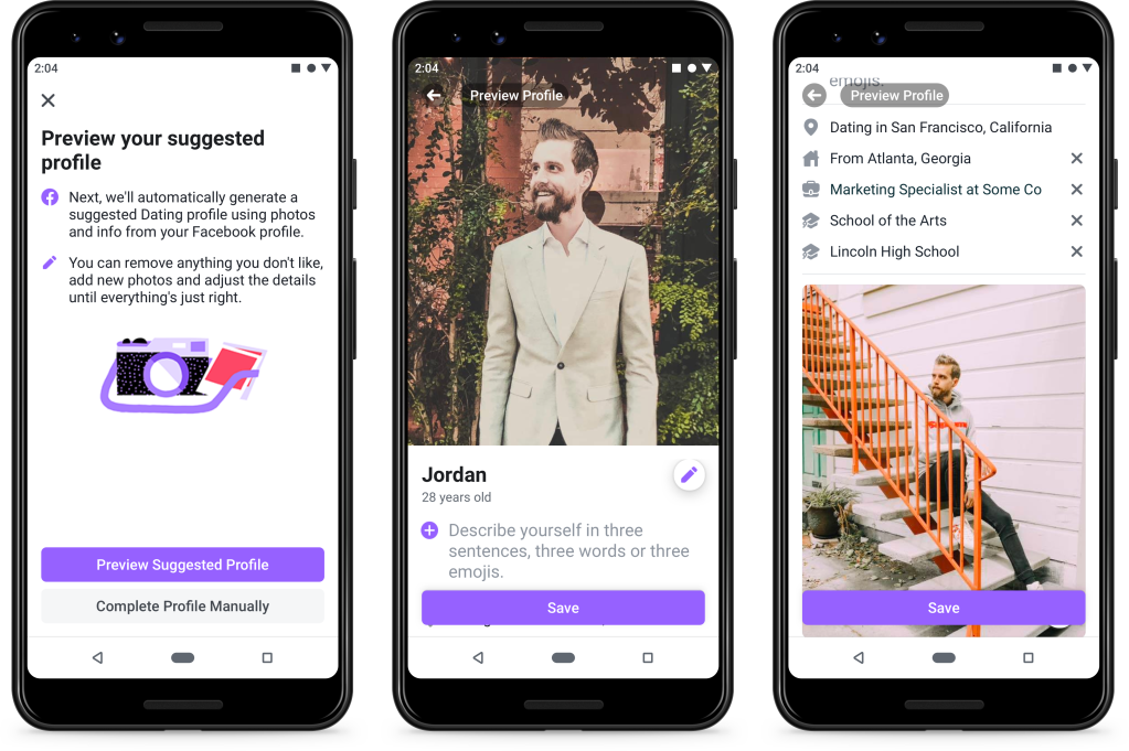 Facebook Dating Debuts, Challenging Match com and Tinder