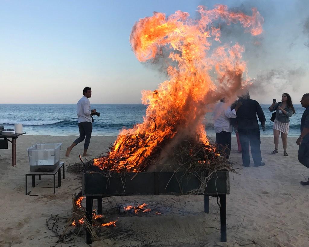 Solaz Cabo Tatemada Clams Fire