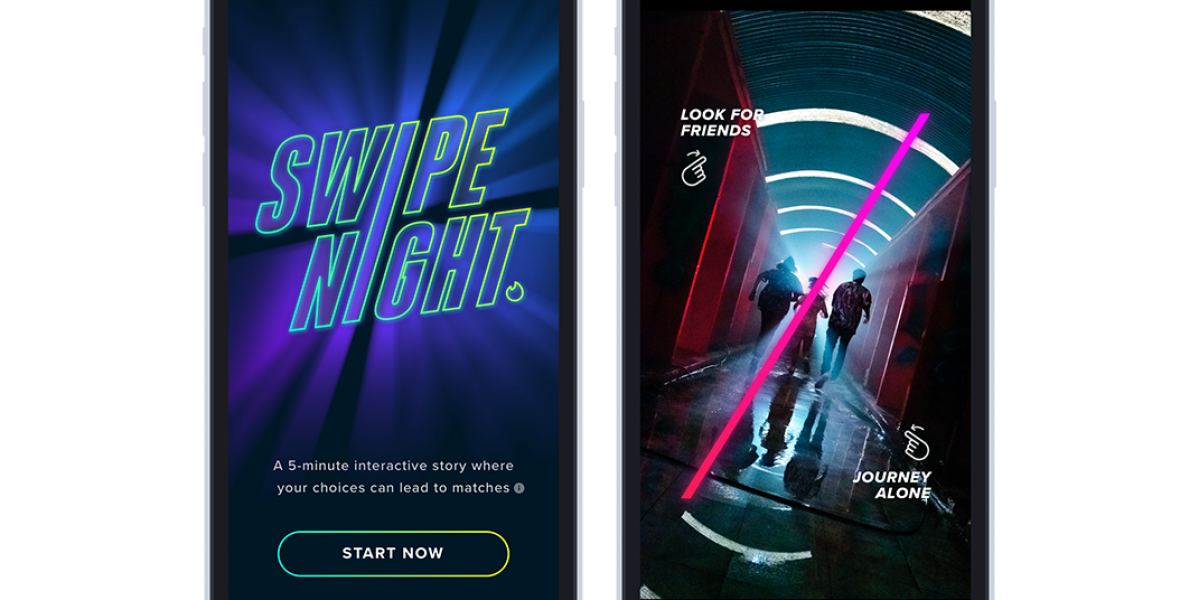 Tinder's New 'Swipe Night' Turns Dating Into a Choose Your Own Adventure Game