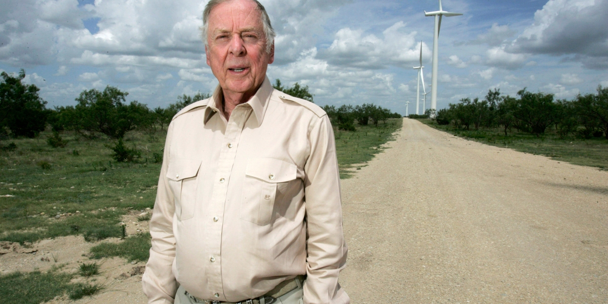 How Legendary 'Raider' T. Boone Pickens Changed the Oil Business—and Every Business