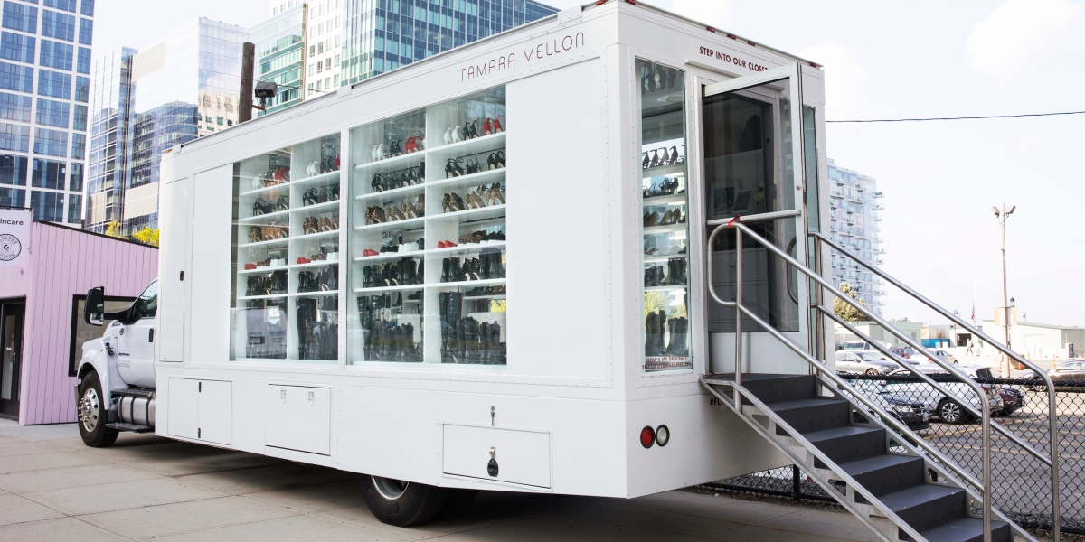 Testing the Luxury Shoe Market With a Salon on Wheels