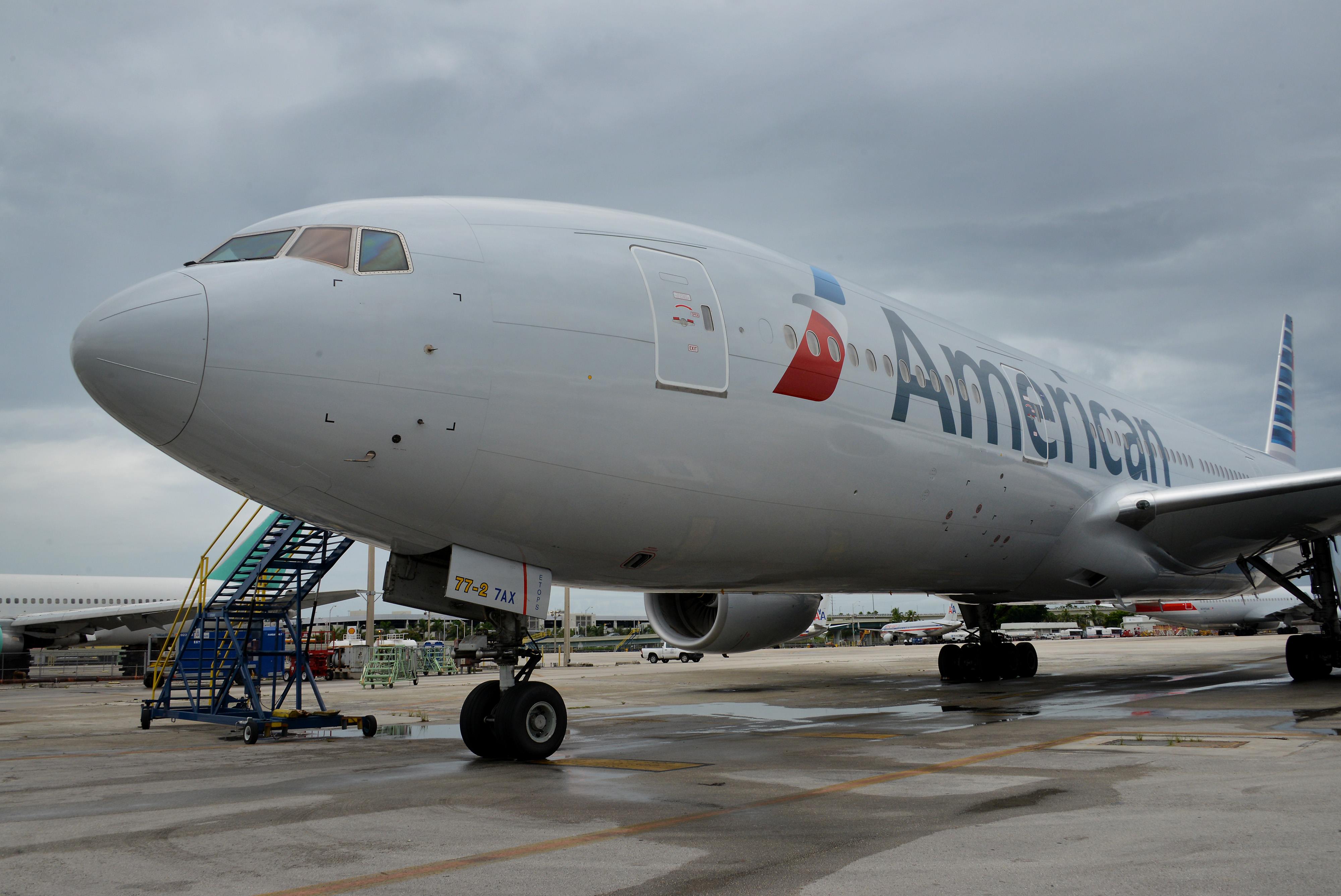 Operations At The American Airlines Group Inc. Terminal Ahead Of Earnings Figures