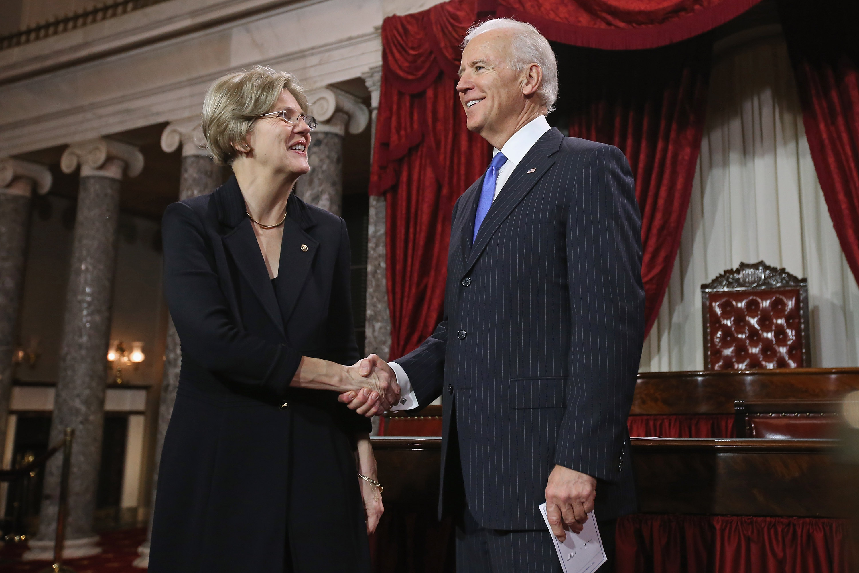 Vice President Biden Holds Senate Ceremonial Swearing In