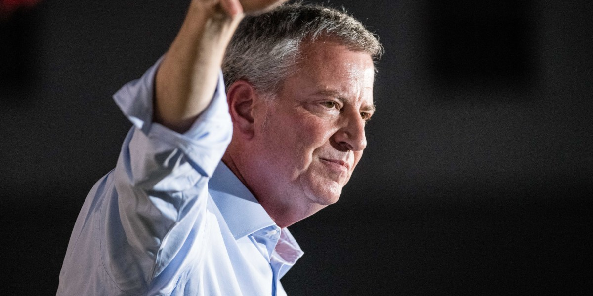 NYC Mayor Bill de Blasio Drops Out of White House Race