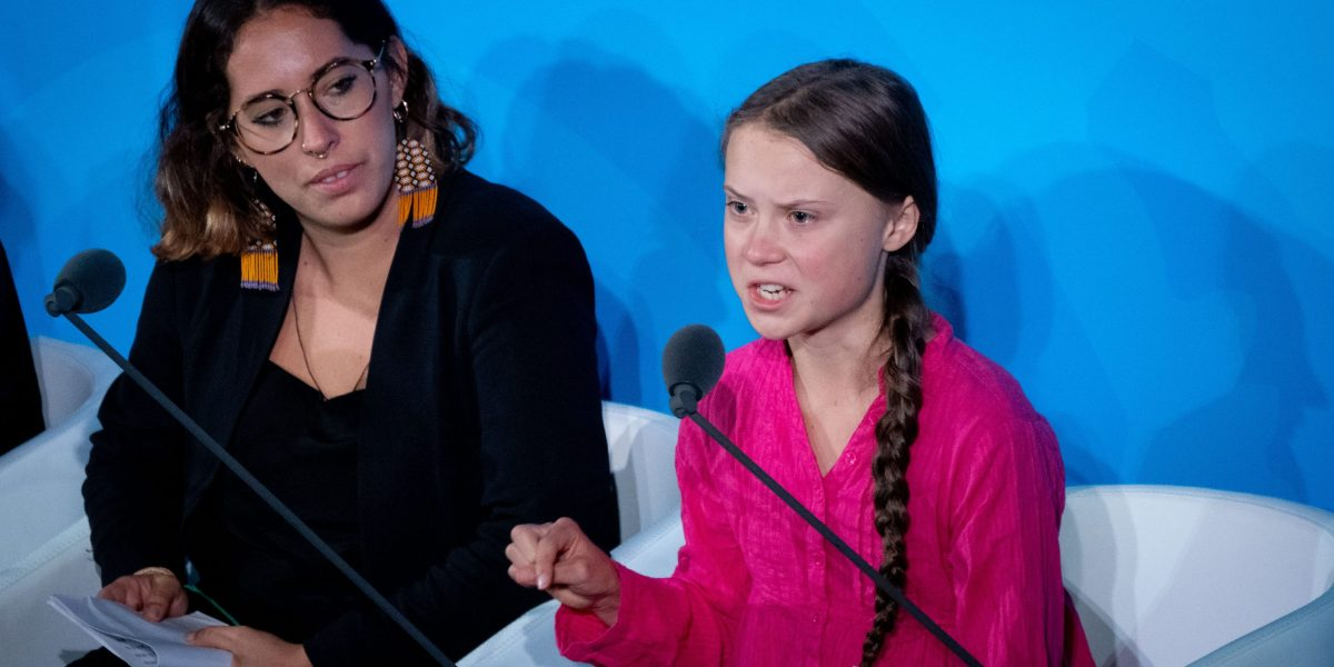 Greta Thunberg Says World Leaders Stole Her Childhood At