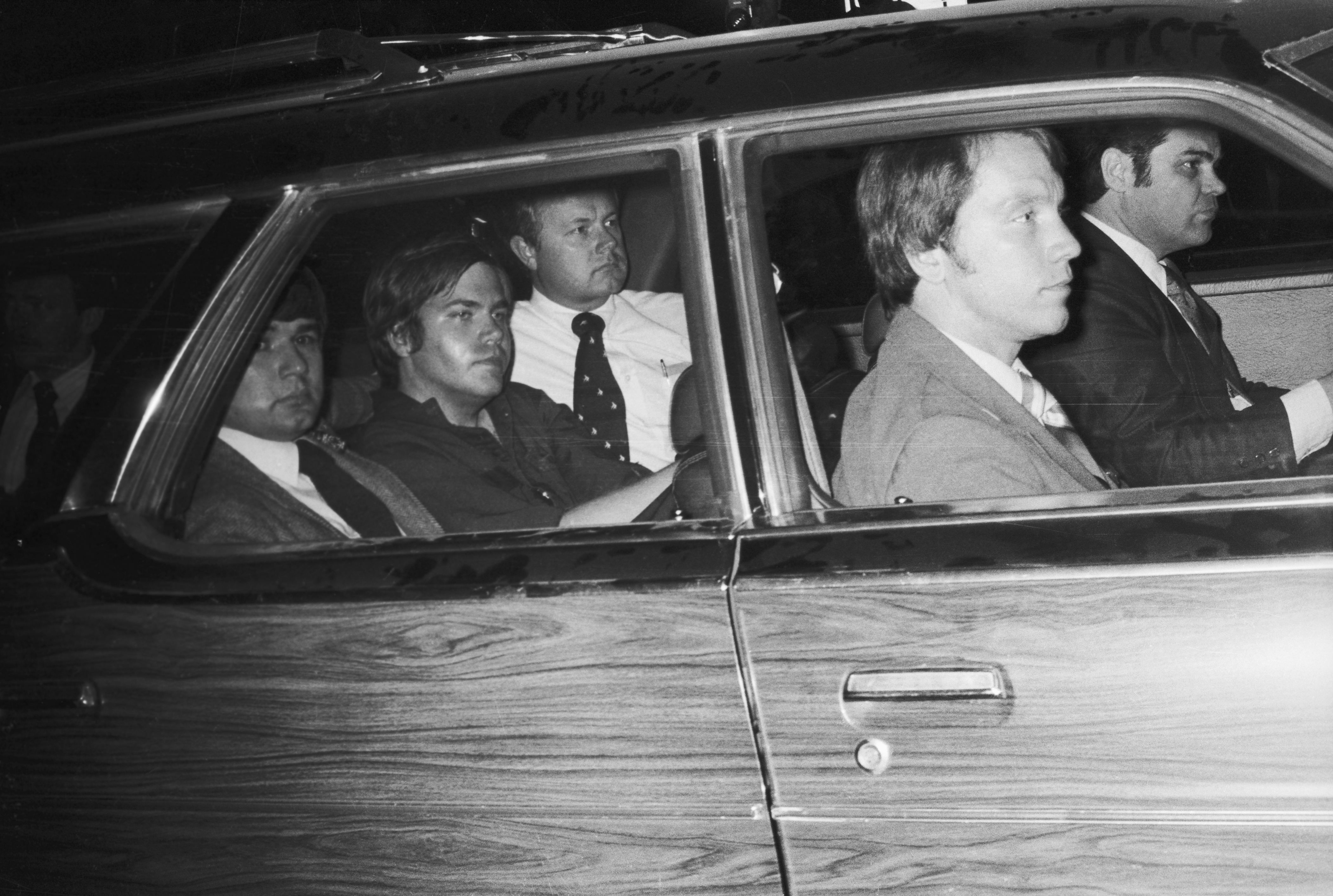 John Hinckley, Jr. Being Driven Away