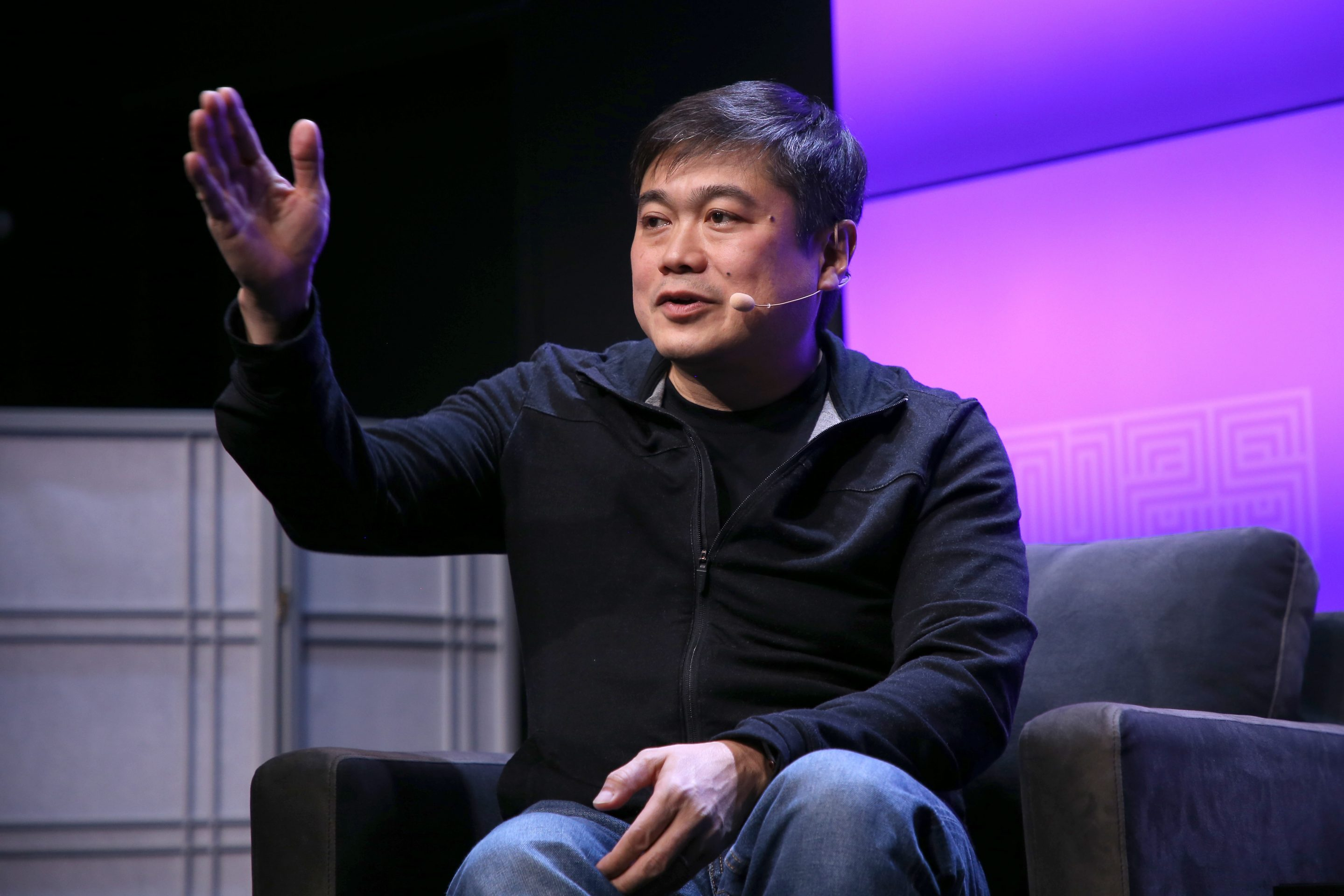 joi Ito speaking at wired