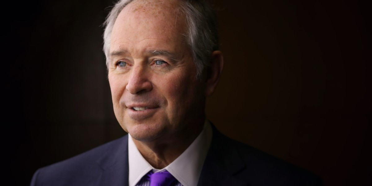 Blackstone CEO Steve Schwarzman on Hong Kong's Unrest, the Rise of Bitcoin, and Fundraising as an 'Out-of-Body Experience'