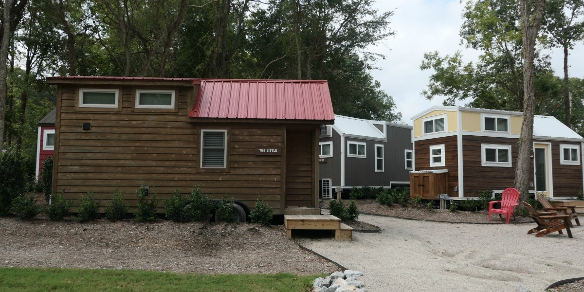 This Hotel Is Made Up Entirely Of Tiny Houses
