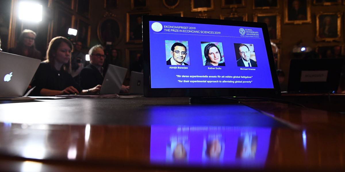 Nobel Prize in Economics Goes to 3 Professors for Work on Alleviating Global Poverty