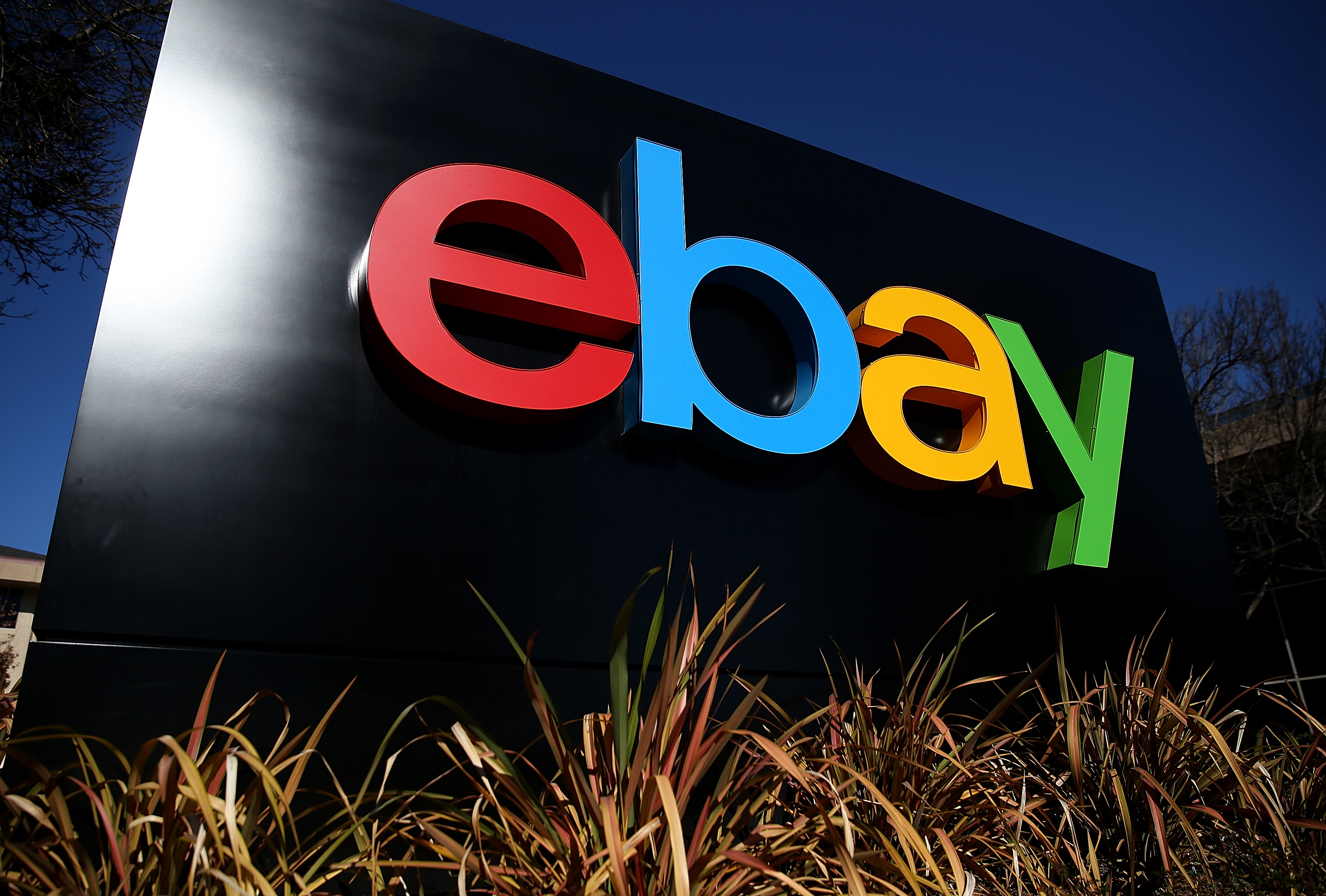 "eBay is the latest company to come under pressure to ""deconglomerate.""(Photo by Justin Sullivan/Getty Images)"