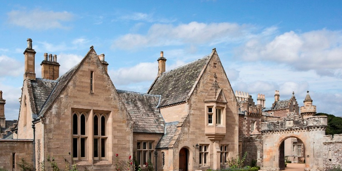 Live Like Famed Novelist Sir Walter Scott in this 19th Century Mansion