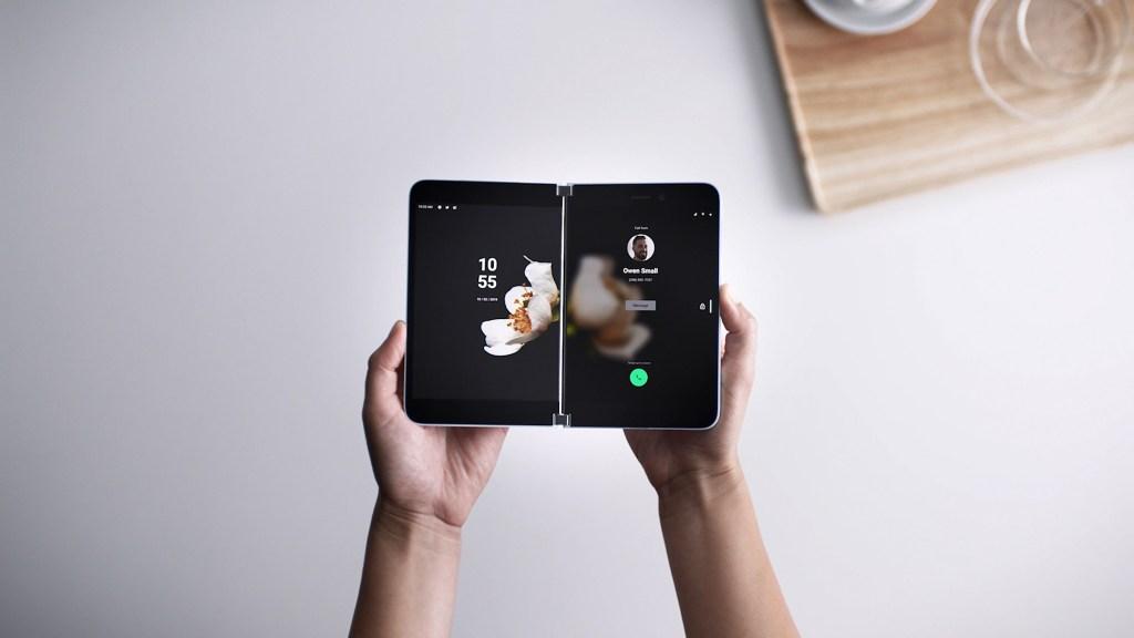 Microsoft Surface Duo-Foldable Phone