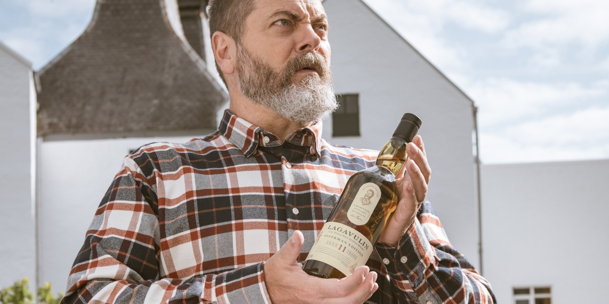 Nick Offerman Launches a Scotch Whisky Ron Swanson Would Love