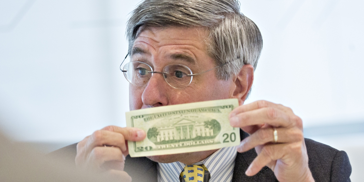 Trump's Former Fed Pick Stephen Moore Announces Cryptocurrency to Compete With Central Banks