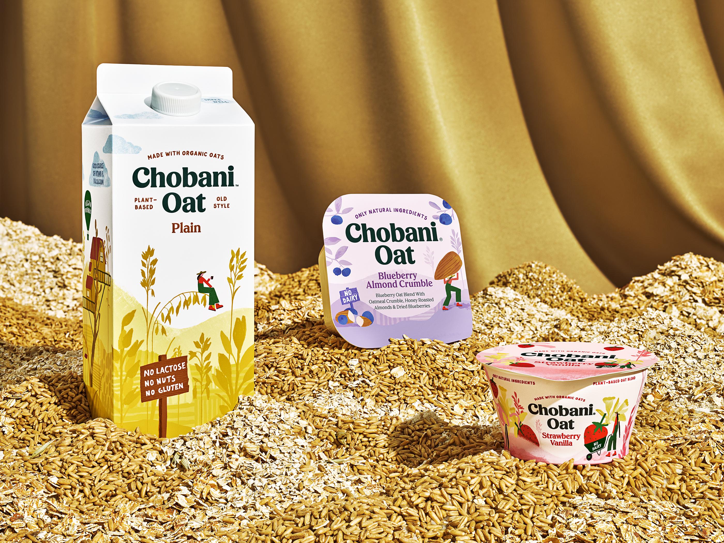 Chobani Rolls Out Oat Milk, Oat Yogurt