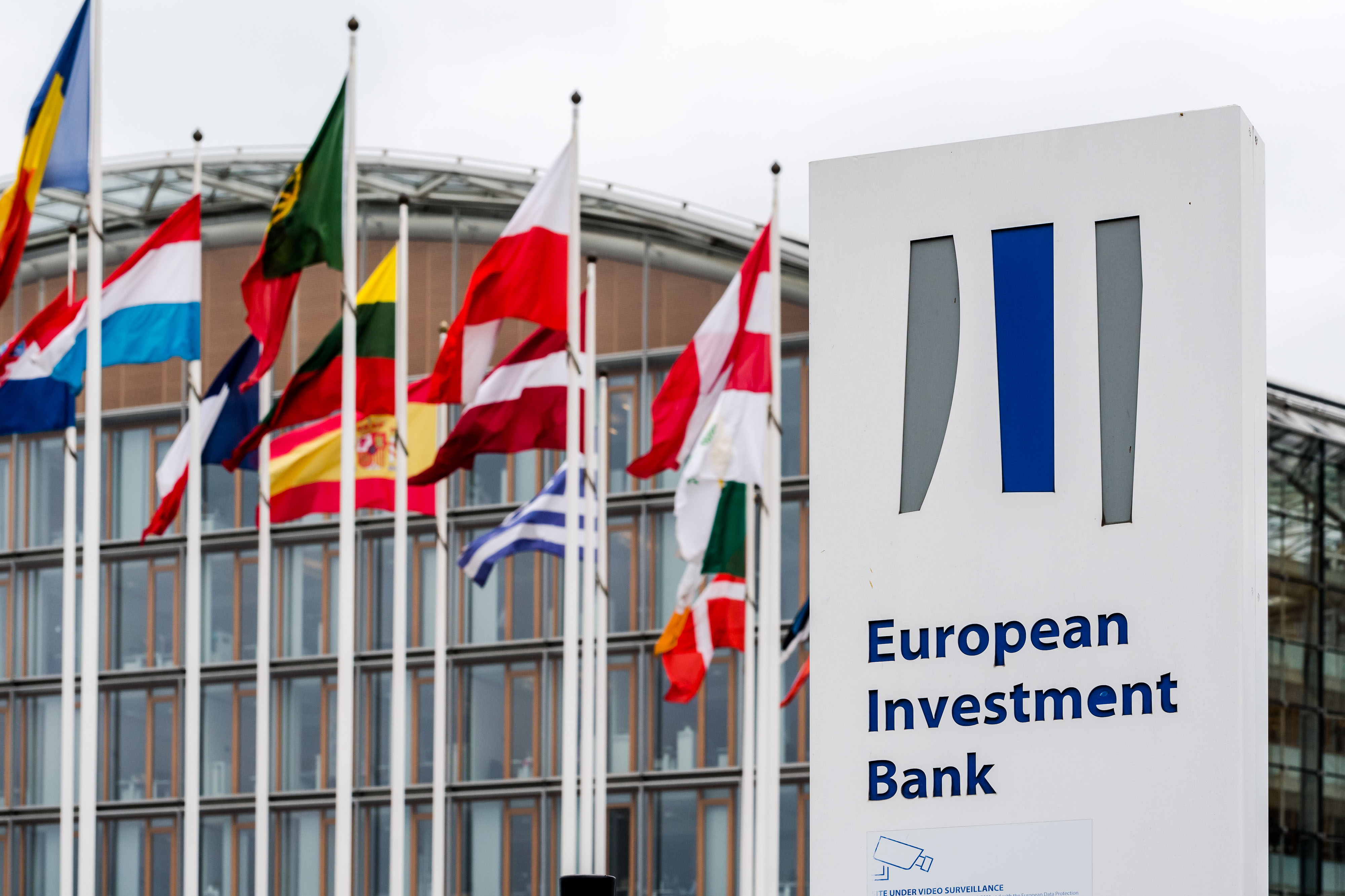 where is the european investment bank located outside
