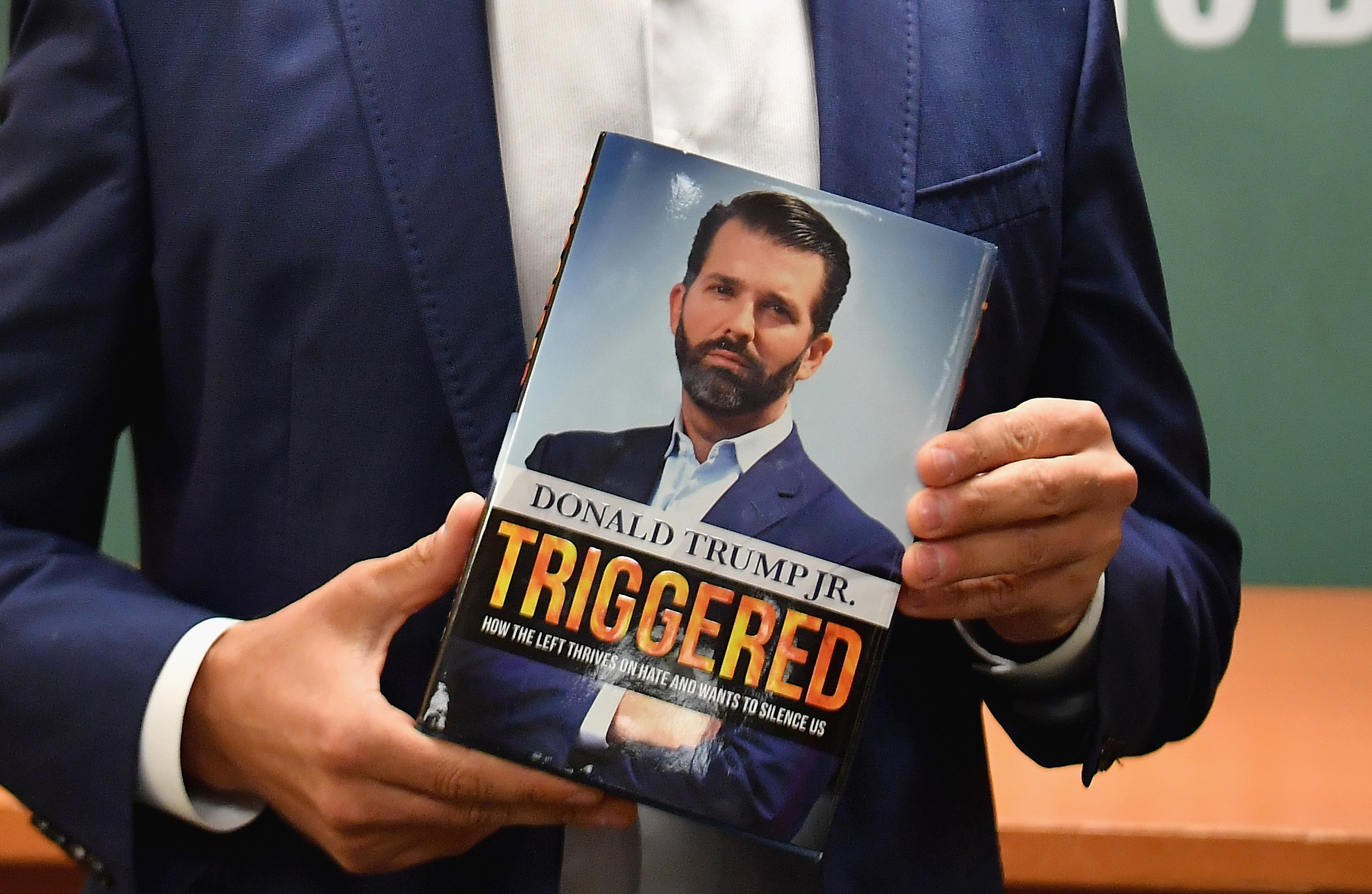 Donald Trump Jr.'s 'Triggered' Tops NYT Best Sellers, But How's It Doing On Other Lists?