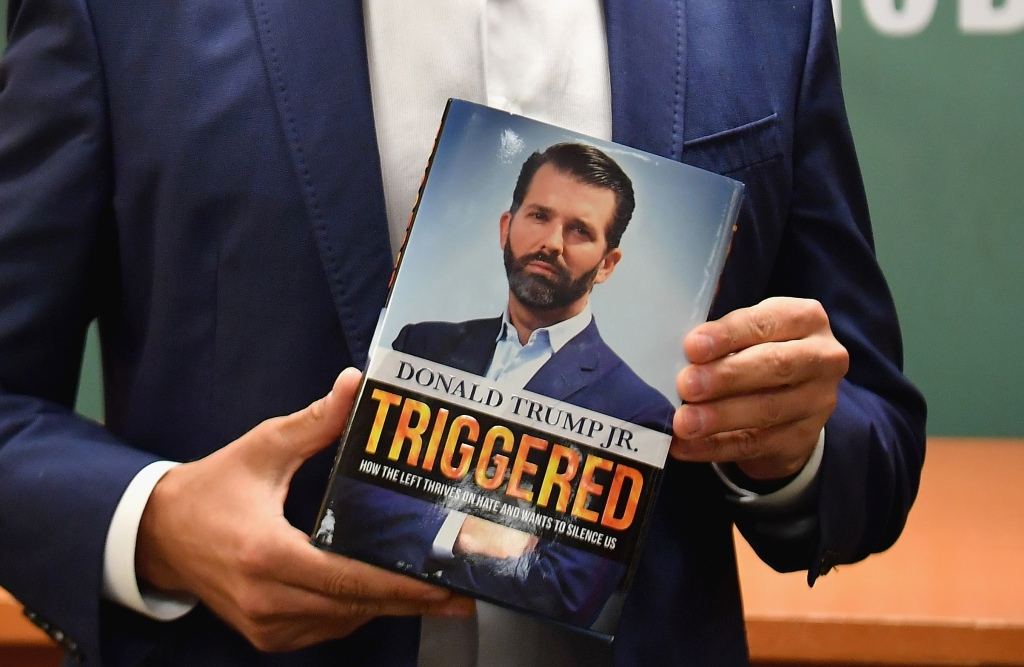 The New York Times Best Seller List New York Times Famous Sellers 2020 Fiction.Donald Trump Jr Book Triggered Tops Ny Times Best Sellers